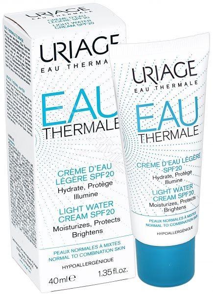 Uriage  Eau Thermale Lekki krem aktywnie nawilżający SPF20 40 ml