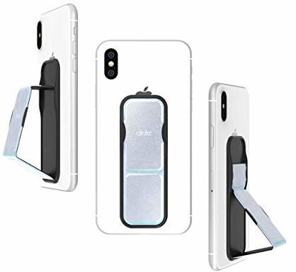 Samsung CLCKR CLCKR uchwyt na telefon i stojak rozszerzający, uniwersalny uchwyt na telefon z wieloma kątami widzenia do iPhone, telefonów, tabletów i wielu innych - holograficzny 34295