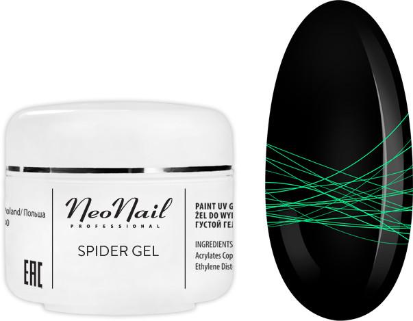 Neonail SPIDER GEL NEON GREEN 5ML