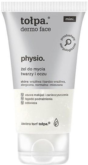 Tołpa Physio Mikrobiom Żel do Mycia Twarzy i Oczu 75ml