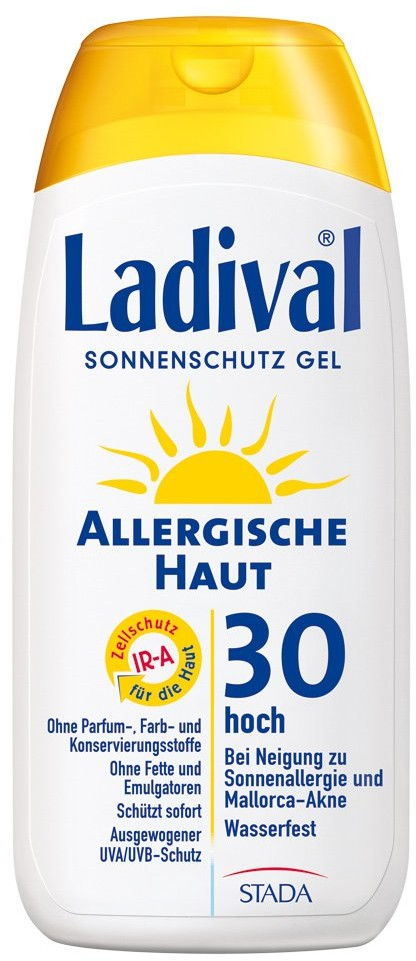 Ladival STADAvita GmbH żel do skóry alergicznej z filtrem SPF30 200 ml