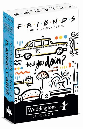 WINNING Moves Waddingtons No 1 Friends