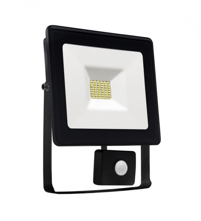 Wojnarowscy LED Reflektor z czujnikiem NOCTIS LUX SMD LED/20W/230V IP44 1700lm czarny