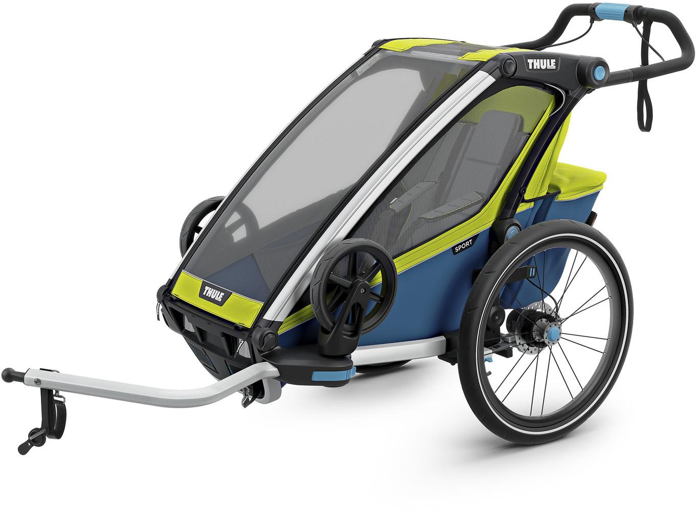 Thule Chariot Sport1 2019 zielony/niebieski TH/10201014