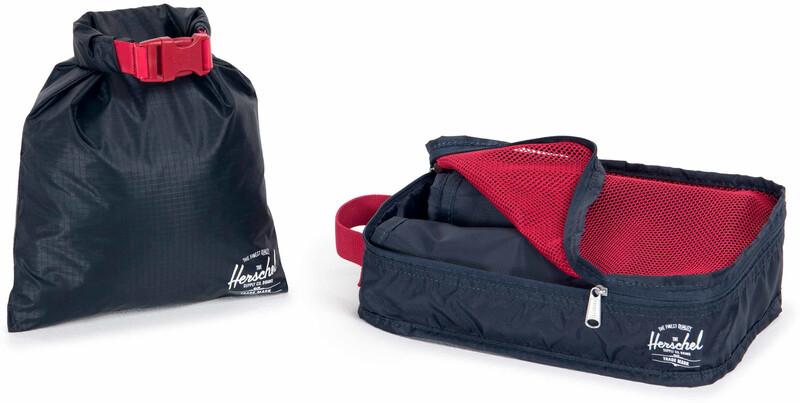 Herschel Travel Organizery, navy/red 2020 Organizery podróżne 10472-00018