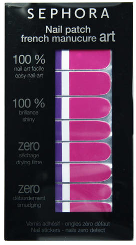 SEPHORA COLLECTION Nail Patch Art - Artystyczny French Manucure