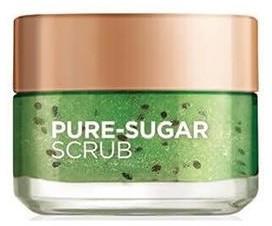 L'Oreal Paris Sugar Scrubs peeling oczyszczający 3 cukry + nasiona kiwi 50ml 53997-uniw