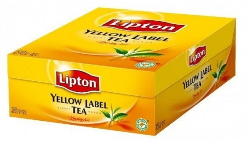 Lipton Herbata YELLOW LABEL 100 torebek 2g