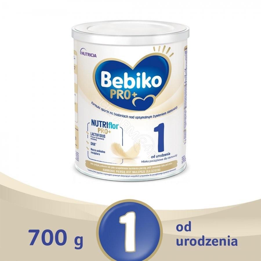 NUTRICIA Bebiko PRO+ 1 mleko początkowe 700 g