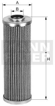 MANN Filtr hydrauliczny, automatyczna skrzynia biegów HD 45/5