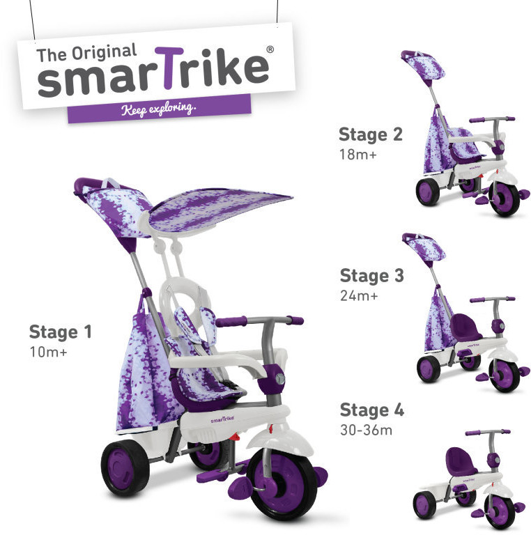 Smart Trike Spirit fioletowy