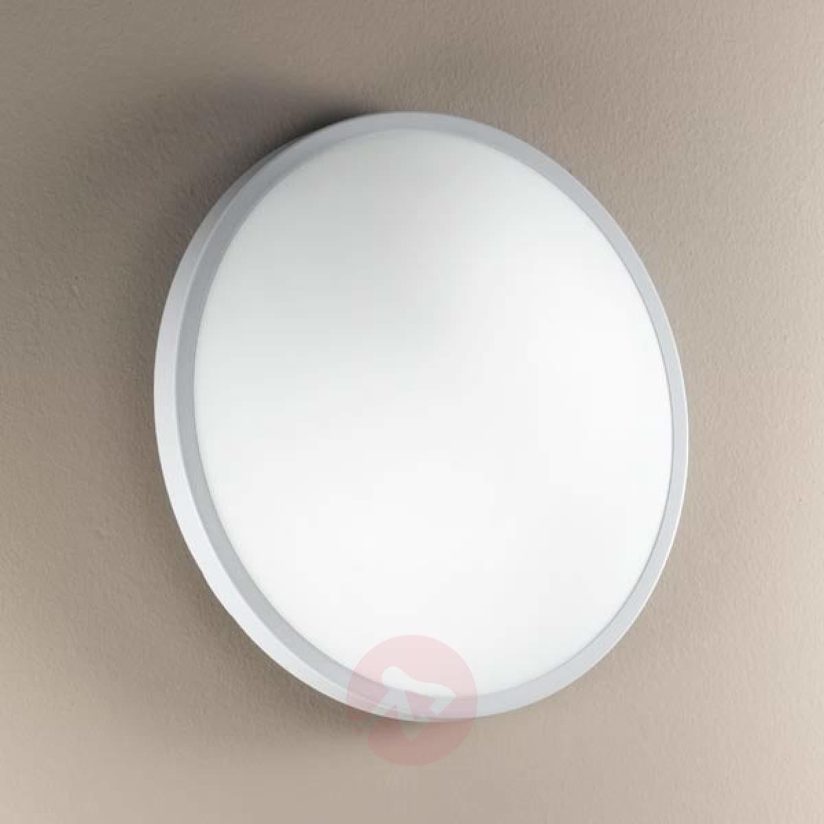 Fabas Luce PLAZA Szklana lampa sufitowa i ścienna 21,5cm
