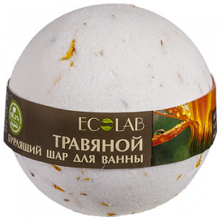 EO LABORATORIE EOLAB Musująca kula do kąpieli ziołowa z ekstraktem z kwiatów nagietka i zielonej herbaty 220g 37735-uniw