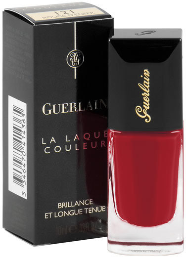 Guerlain La Laque Couleur, lakier do paznokci 121 Rouge D'Enfer, 10 ml