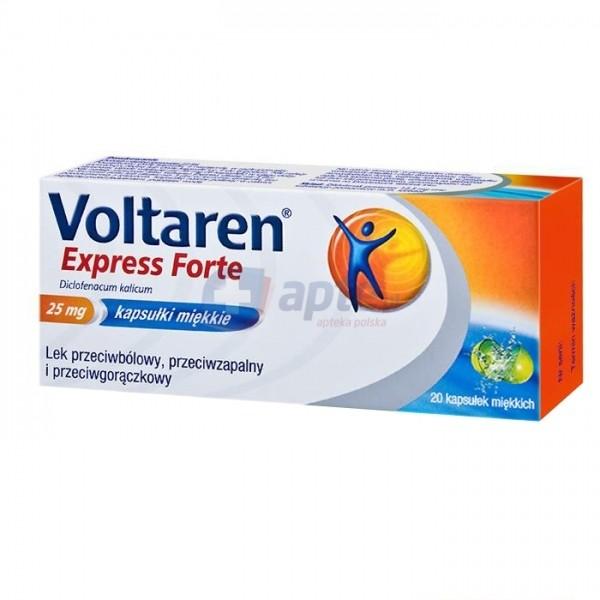 Novartis Voltaren Express Forte 25mg x20 kaps.ułek
