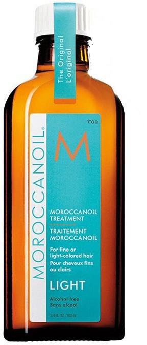 Moroccanoil Treatment Light Naturalny olejek arganowy do włosów cienkich i delikatnych 100ml 0000008227