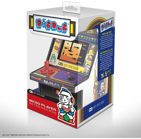 Retro Micro Player Dig Dug Retro (845620032211)