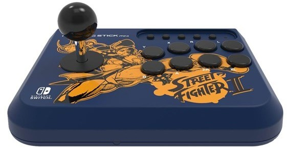 HORI Fighting Stick Mini: Street Fighter Chun-Li/Cammy (NSW-203U)