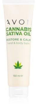 Avon Cannabis Sativa Oil krem do rąk i ciała z olejkiem konopnym 150 ml