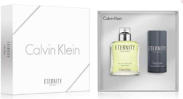 Calvin Klein Eternity Zestaw Woda toaletowa spray 100 ml Dezodorant w sztyfcie 75 ml