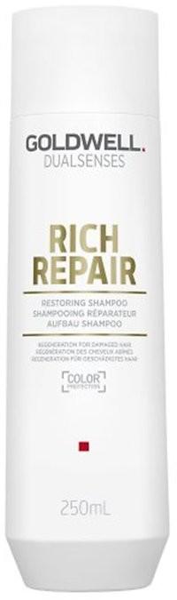 Goldwell Dualsenses Rich Repair, szampon odbudowujący do włosów zniszczonych, 250 ml