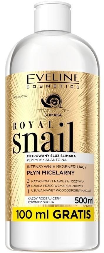 Eveline Royal Snail Intensywnie regenerujący płyn micelarny 500ml