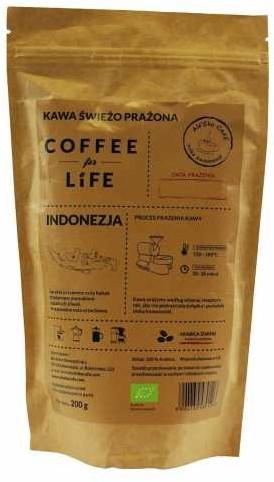 Ale Eko Cafe ALE'EKO CAFE KAWA 100% ARABICA ZIARNISTA INDONEZJA BIO 200 g -
