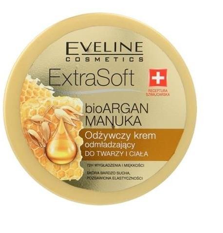 Eveline Extra Soft odżywczy krem odmładzający do twarzy i ciała 175ml 53784-uniw