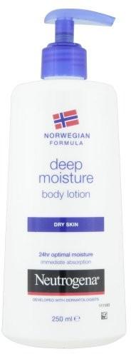 Neutrogena Deep Moisture balsam do ciała Dry Skin do suchej skóry 250ML 7649900