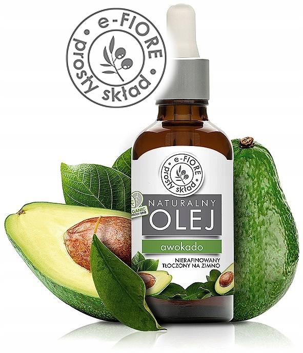 e-FIORE Olej Z Awokado Bio Odżywczy 50 ml