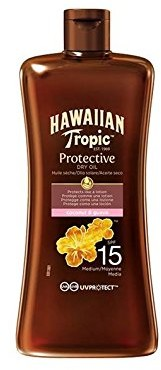 Hawaiian Tropic Protective Dry Oil LSF 15, 100 ML Y00595A0