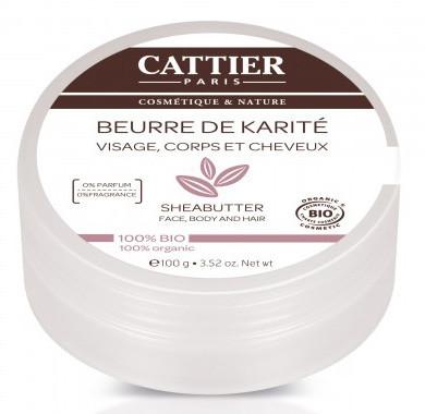 Cattier (kosmetyki) MASŁO SHEA ECO 100 g -
