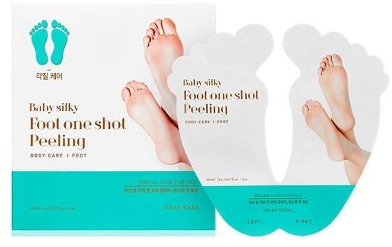 SilkyFoot Holika Holika Holika Holika Baby Skarpety peelingujące do stóp 2x25ml