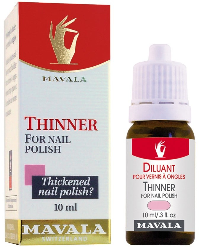 Mavala Thinner For Nail Polish Rozcieńczalnik do lakieru 10 ml