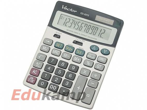 Vector kalkulatory Kalkulator VECTOR biurowy CD-2372 AA009VEC