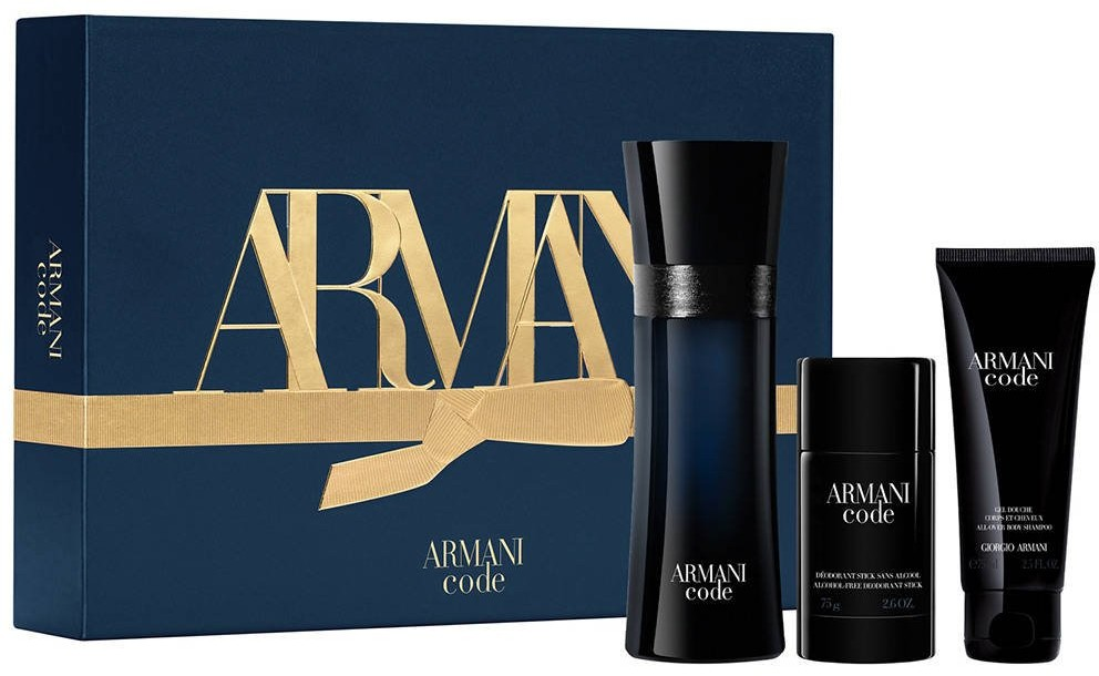 Giorgio Armani Giorgio GIORGIO Code Pour Homme EDT 125ml + 75ml + 75ml 93827-uniw