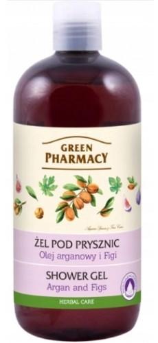 Green Pharmacy Pharm ŻEL POD PRYSZNIC OLEJ ARGANOWY FIGI GREEN PHARMACY 500 ml 8BE0-70180