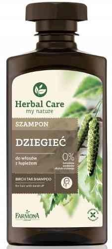 Herbal Care Care szampon Dziegieć szampon do włosów z łupieżem 330ml