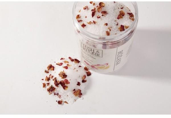 Fresh&Natural Różana sól do kąpieli 500g - Fresh&Natural 4062-0