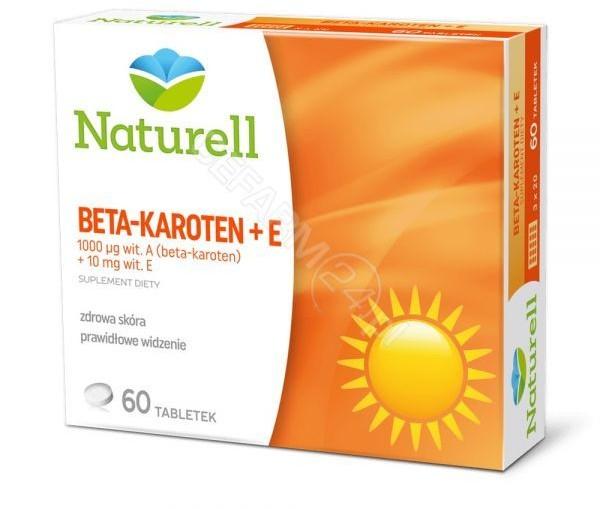 Opinie o Naturell USP ZDROWIE Beta-karoten + E x 60 tabl