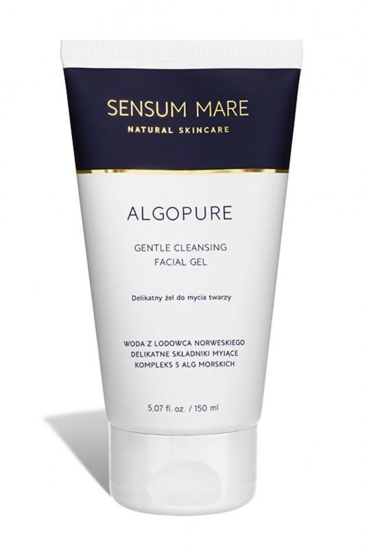 Sensum Mare ALGOPURE delikatny żel do mycia twarzy z kompleksem 5 alg morskich i wodą z lodowca norweskiego 150 ml