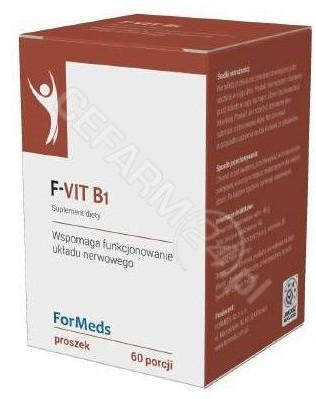 ForMeds Suplementy diety ForMeds F Vit b1 60porcji FO391