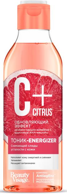 Fitokosmetik BeautyVisage C+ Citrus Tonik-energizer do twarzy 245ml 44233-uniw