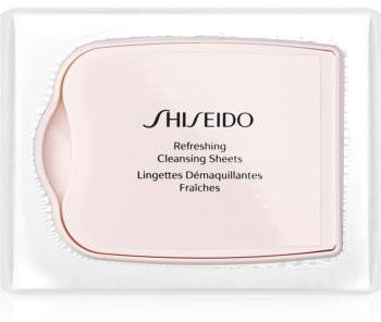 Shiseido Pureness chusteczki głęboko oczyszczające Refreshing Cleansing Sheets 30 szt