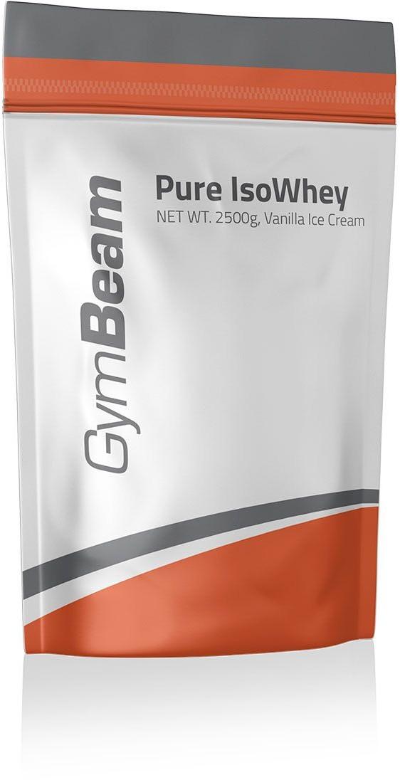 GymBeam Izolat białka serwartkowego 2500 g