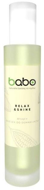 Babo Babo Relax&Shine Myjący olejek do demakijażu 100ml