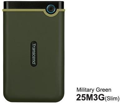 Transcend Transcend StoreJet 2.5 25M3G 2TB Portable HDD DHTRNZBT20M3G00