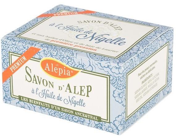 Alepia Premium, mydło alep z czarnuszką, 125 g