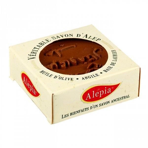 Alepia mydło alep z czerwoną glinką, 125 g