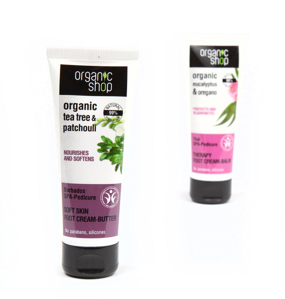 Organic Shop Krem pielęgnacyjny do stóp
